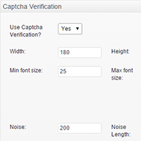 Built-in Captcha